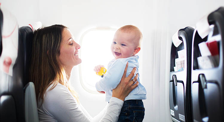 Traveling to India with Babies in Flight