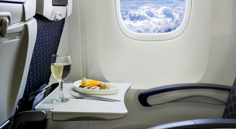 Upgrade the Economy Ticket to Business Class