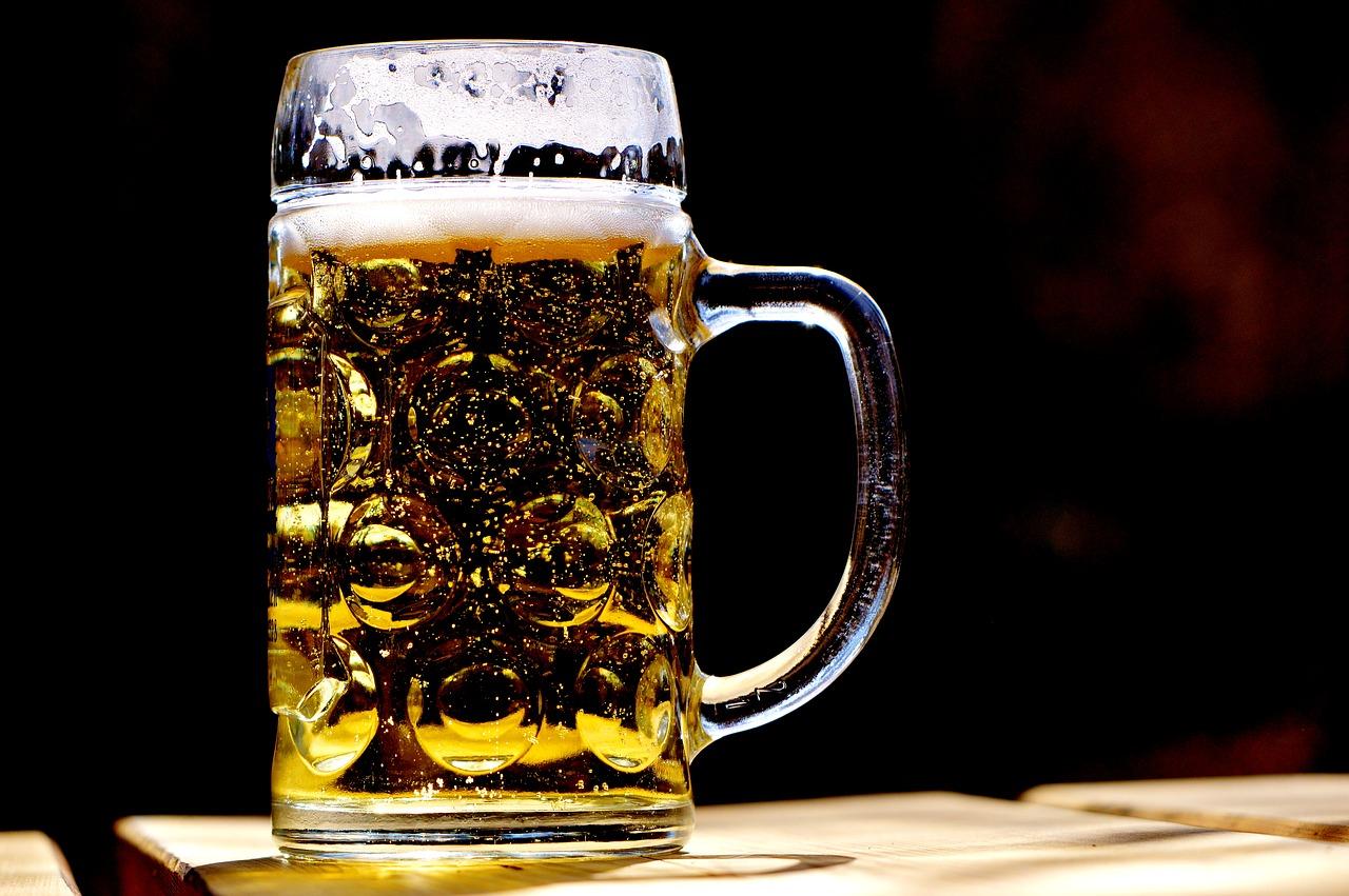 full glass of alcohol