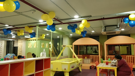 indoor view of the amusement park wonderbeans Kolkata