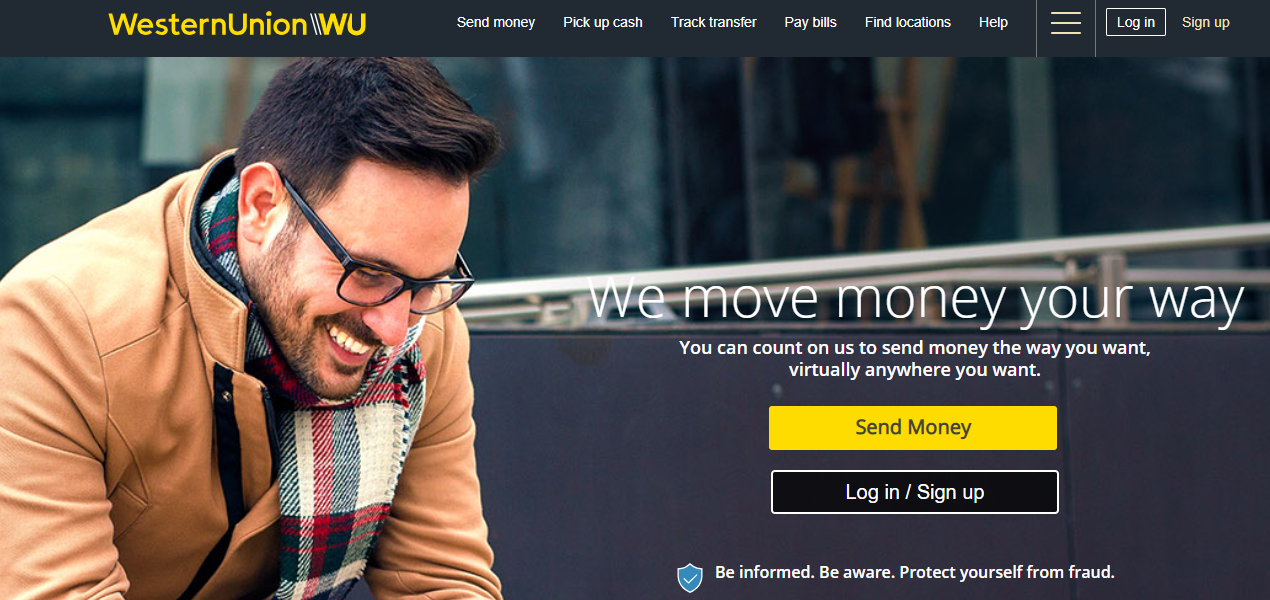 send money from india to usa western union