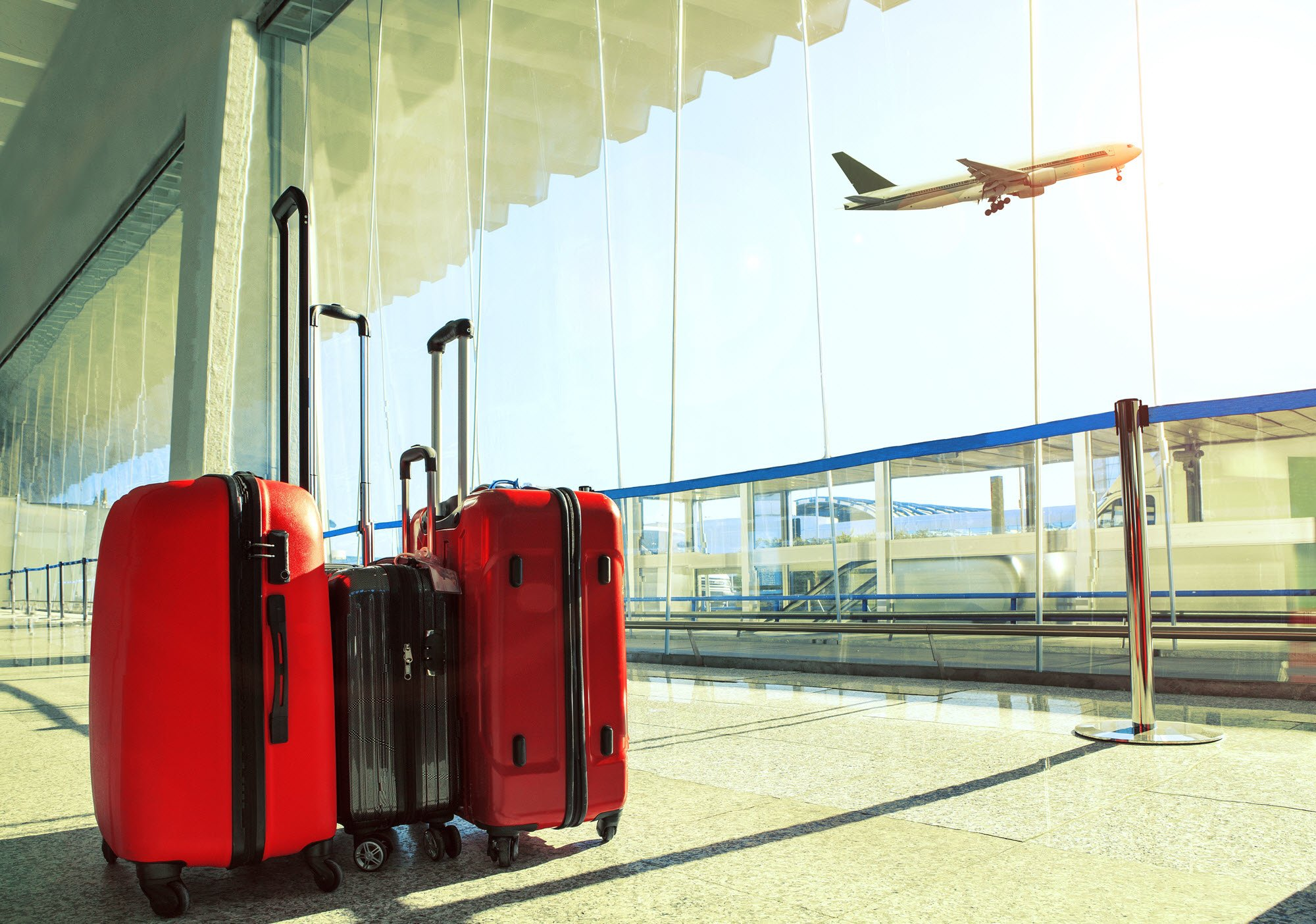 luggage in airport
