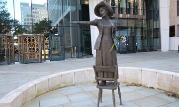 international women's day Emmeline Pankhurst